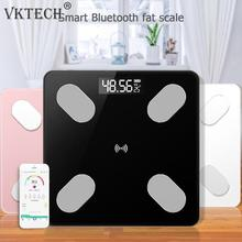 Bluetooth Body Fat Scale - Smart BMI Scale Digital Bathroom Wireless Weight Scale Body Composition Analyzer with Smartphone App цена