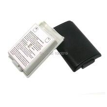 Pil Paketi Kapak Bölmesi Kalkanı Vaka Seti Xbox 360 Kablosuz Denetleyici Gamepad 2 Renk Beyaz/Siyah