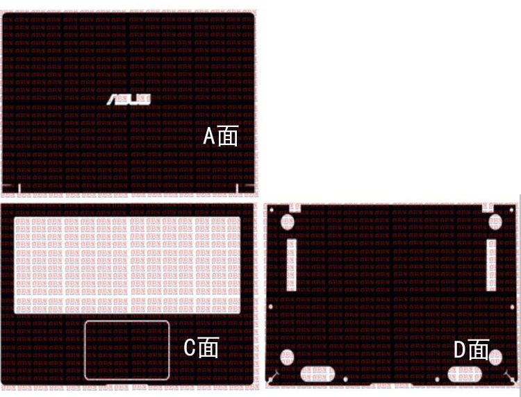 Laptop Carbon Fiber Vinyl Skin Sticker Cover For New ASUS ZenBook 14 UX433FA UX433F UX433FN 14