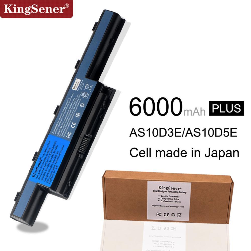 KingSener Nouveau AS10D3E batterie d'ordinateur portable Pour Acer AS10D31 AS10D41 AS10D51 AS10D61 AS10D71 AS10D73 AS10D75 AS10D5E AS10D81 4741G 5741