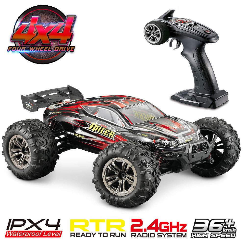 36km/h 4WD 2.4Ghz Remote Control Truck 1:16 Scale Radio Conrtolled Off-Road RC Car Electronic Monster Truck R/C RTR Hobby Cross36km/h 4WD 2.4Ghz Remote Control Truck 1:16 Scale Radio Conrtolled Off-Road RC Car Electronic Monster Truck R/C RTR Hobby Cross