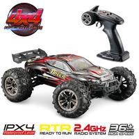 36km/h 4WD 2.4Ghz Remote Control Truck 1:16 Scale Radio Conrtolled Off Road RC Car Electronic Monster Truck R/C RTR Hobby Cross