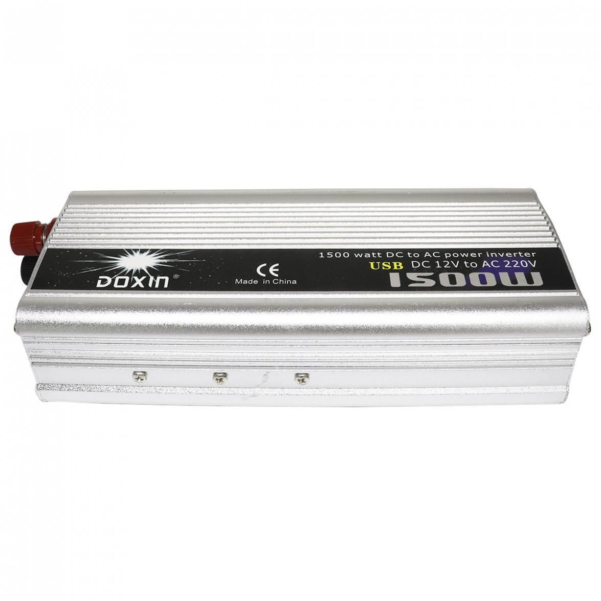 1500W Auto Power Inverter DC 12V 24V zu AC 220V 110V USB Power Ladegerät Konverter auto Inverter Peak Power 3000W