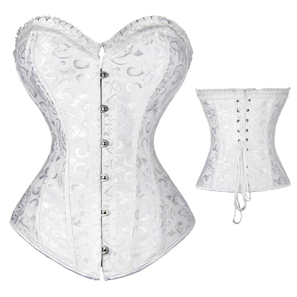girdle forwomen waist support corset underbust shaper underwear top slimming bustier corsets sexy bride abdomen with Steel bone