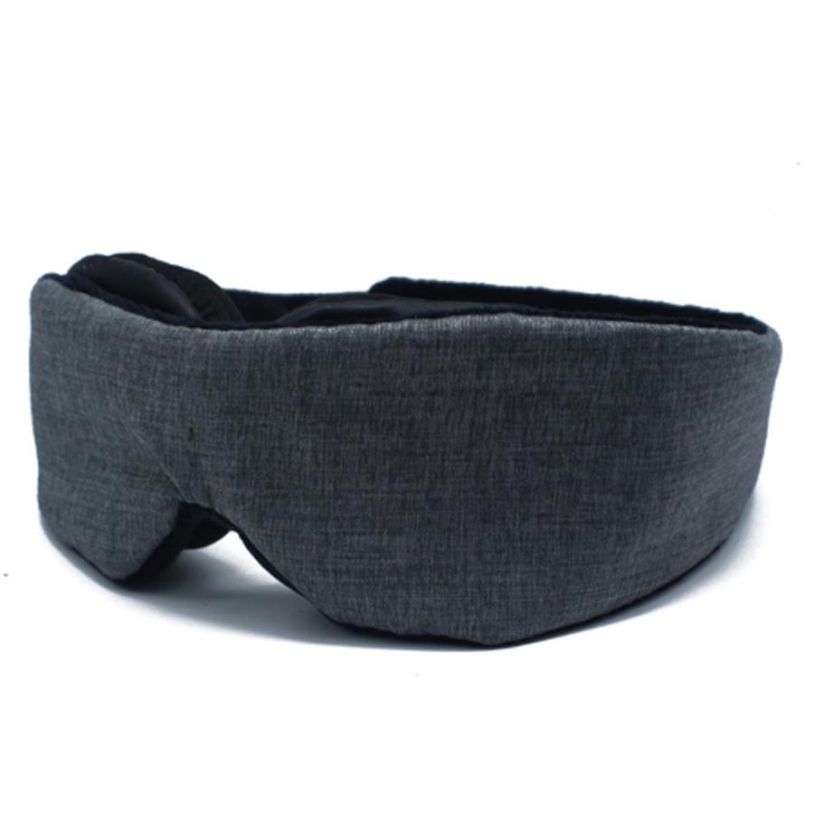 3D Sleeping Eye Mask Adjustable Block Out Light Eye Cover Patch Breathable Travel Rest Sleeping Aid Eye Mask Blindfold Sleeping
