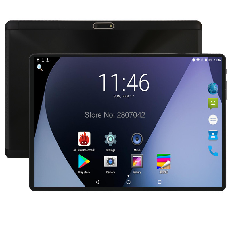 Android 8.0 10 Inch 4G FDD LTE Tablet Octa Core 4GB RAM 64GB ROM Dual SIM Cards 8.0M Camera 1280x800 IPS Tablet 10 10.1 + Gifts