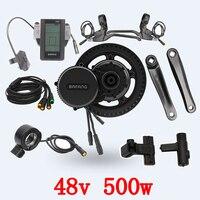 Free shipping 48V 500W Bafang BBS02 mid drive electric motor kit