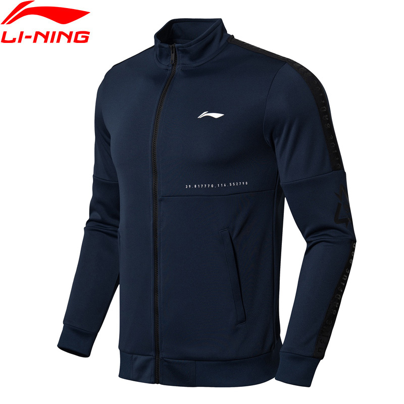 (Break Code)Li-Ning Men Basketball BAD FIVE Sweater Regular Fit 100% Polyester Li Ning LiNing Sports Tops AWDN329 MWW1407