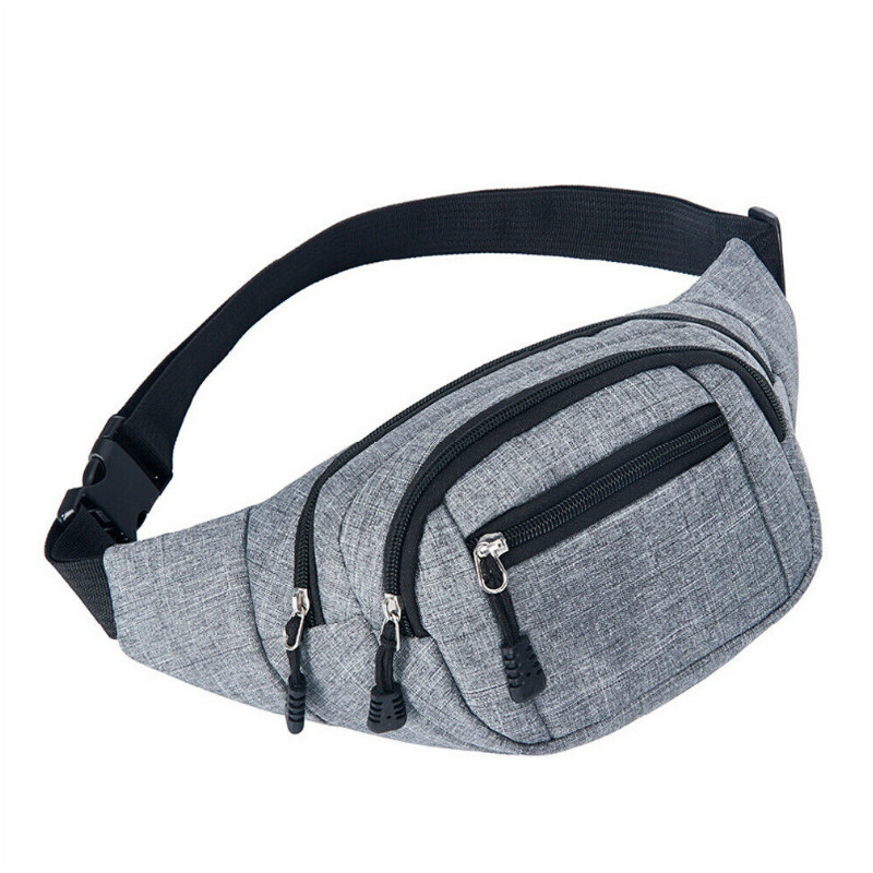 Sport Canvas Belly Waist Bag Fitness Running Jogging Cycling Belt  Pack