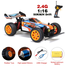 RC Car 4WD 38km/h High Speed 1/16 Car Radio Controled Machine 4CH Remote Control Car Toys For Children Kids RC Drift