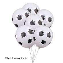 5Pcs 18 Inch Football Aluminum Foil Balloon Soccer Metallic Mylar Balloons Decoration for Birthday Party supply football balloon