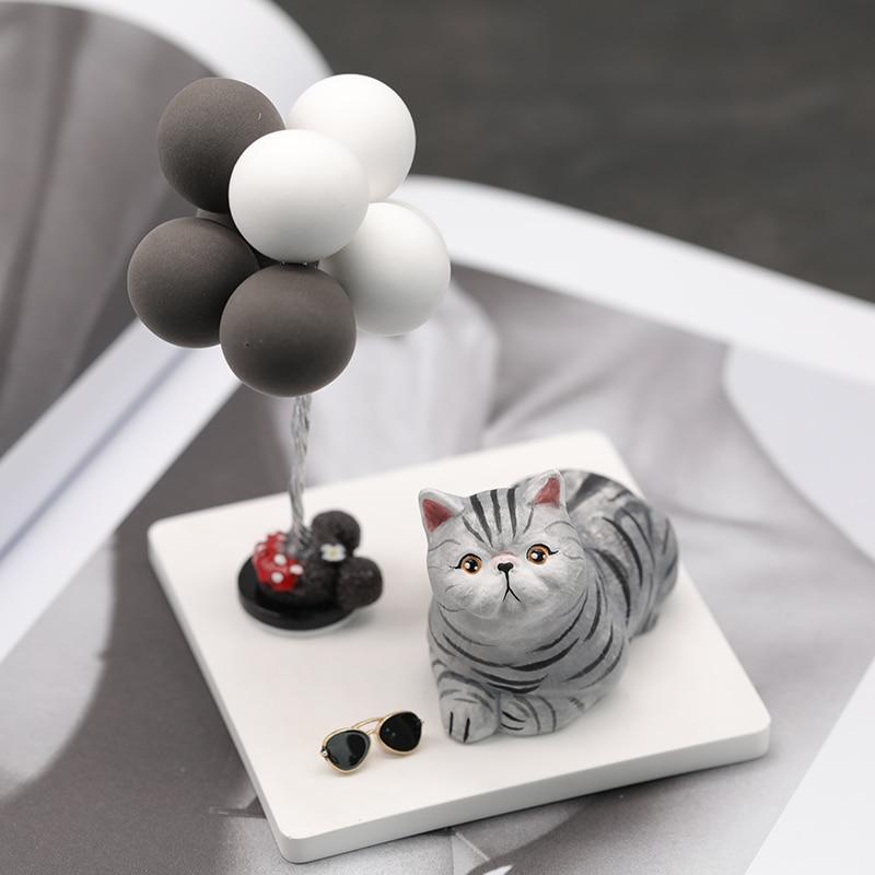 3D Gatto di figura Del Silicone Della Muffa Mousse Torta gelato Vestito Stampo per fare aroma gesso Gesso artigianato Candele Argilla Sapone muffa