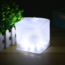 BRILEX Solar Lantern White Rechargeable 4 Modes IPX7 Solar LED Light Outdoors Lamp Solar Outdoor Lighting Camping Light super bright square portable solar lantern 4 modes rechargeable emergency led outdoor camping light black white