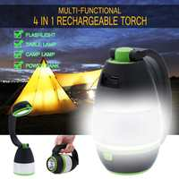 Lampe Led Portable Spotlight Led Work Light USB Rechargeable Outdoor Light For Hunting Camping Led Latern Flashlight Power Bank