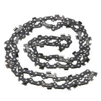 "Mayitr 18"" Semi Chisel Chainsaw Chain 3/8 0.050"" 62DL Cutting Saw Chain For Garden Wood Cutting Chainsaw Tools"