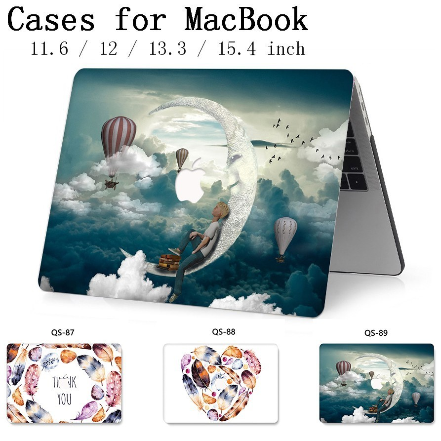 For Notebook MacBook Laptop Case Sleeve New For MacBook Air Pro Retina 11 12 13.3 15.4 Inch With Screen Protector Keyboard Cove-in Laptop Bags & Cases from Computer & Office