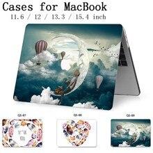 Pour ordinateur portable MacBook housse pour ordinateur portable nouveau pour MacBook Air Pro Retina 11 12 13.3 15.4 pouces avec écran protecteur clavier Cove