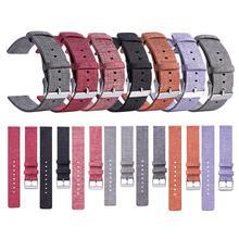 20 MM Lona de Nylon Universal Substituição Watch Band Wrist Straps Adequado Relógio Inteligente Novo E de Alta Qualidade Confortável