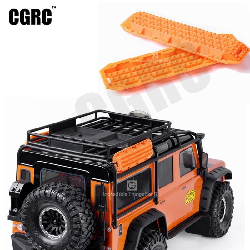 Remote Control Toys 1:10 Simulation Climbing Off-road Vehicle Skid Board Off The Hook Board Sand Board For Axial Scx10 90046 Rc4wd D90