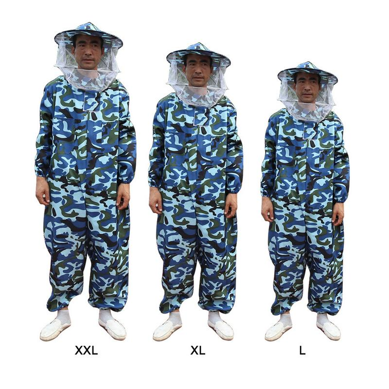 Professional Beekeeping Protective Suit Camouflage Beekeeping Beekeeper Protect Equipment Safety Clothing Beekeeper Bee Suit Protective Clothing     - title=