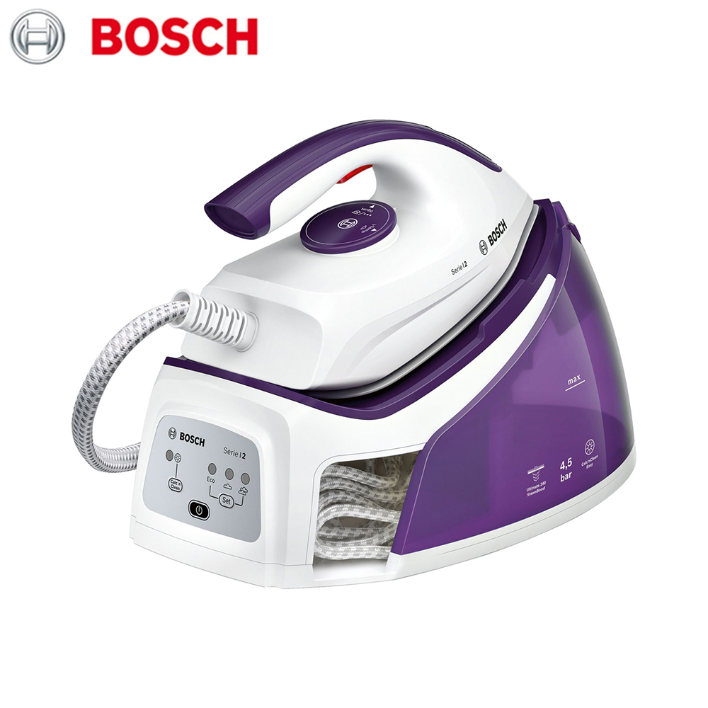 Electric Irons Bosch TDS2170 household appliances laundry steam station iron ironing clothes high quality 90w heavy duty soldering station bk2000a built in cooling fan smd lead free soldering station iron