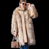 Real Fur Coat Women's Winter Jackets Long Coat Women Sheepskin Coat Wool Coat Fur Sheep Shearing Jacket European size