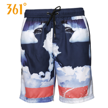 361 Men Swimming Shorts Quick Dry Surf Beach Board shorts Sports Mens Trunks Boxer suit Male Swimwear Short