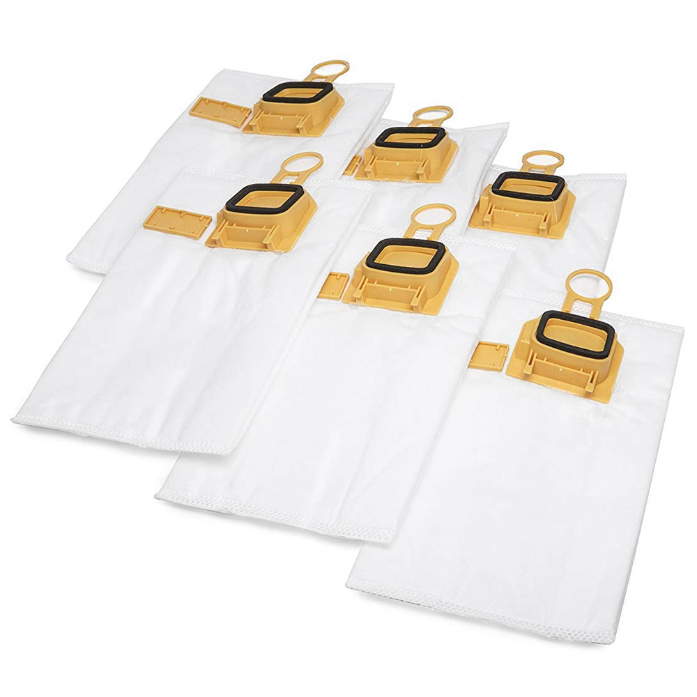 6 Pieces Nonwoven Fabric Vacuum Cleaner Bags, Vacuum Cleaner Bags For Vorwerk Kobold VK 140 And VK 150