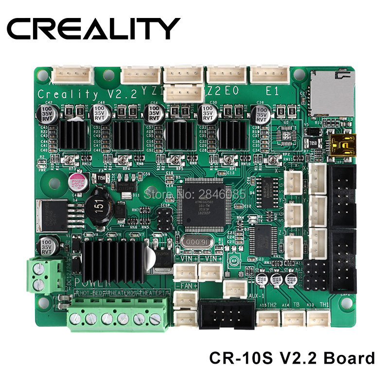 CREALITY 3D Upgrade CR 10S Series V2.2 Mainboard/motherboard For CREALITY 3D CR 10S Series 3D Printer Original Supply-in 3D Printer Parts & Accessories from Computer & Office