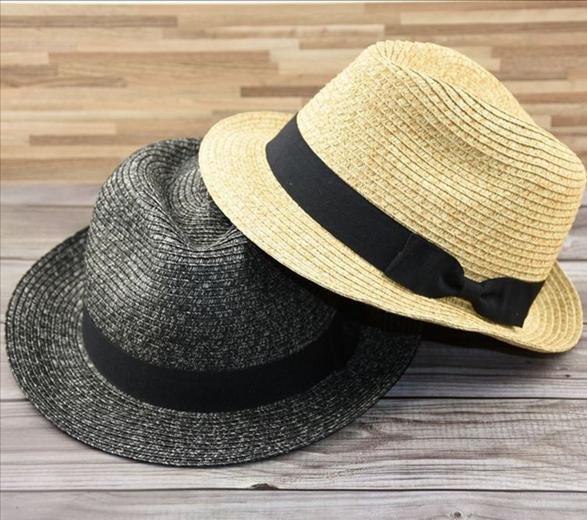 Plus Size Panama Hat Small Size Adult Straw Sun Hats Women And Man Fedora Hat Cap From 54cm To 62cm 4 Sizes S M L XL(China)