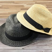 Plus size panama hat small size adult straw sun hats women and man fed
