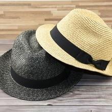 Plus size panama hat small size adult straw sun hats women and man fedora hat Ca