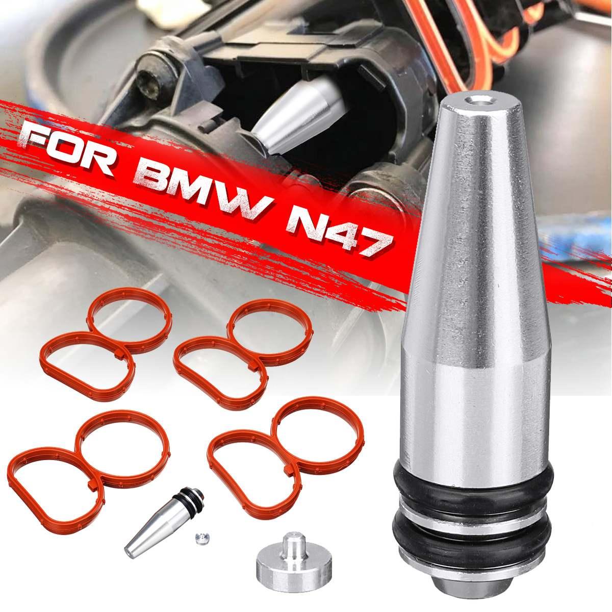 Remplacement de retrait de vide de prise daileron de tourbillon avec des joints pour BMW N47 2.0 DRemplacement de retrait de vide de prise daileron de tourbillon avec des joints pour BMW N47 2.0 D