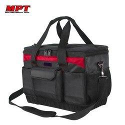 Профессиональная сумка для инструментов из ткани Оксфорд, сумка для хранения ключей, сумка для ремонта оборудования, набор инструментов, по...