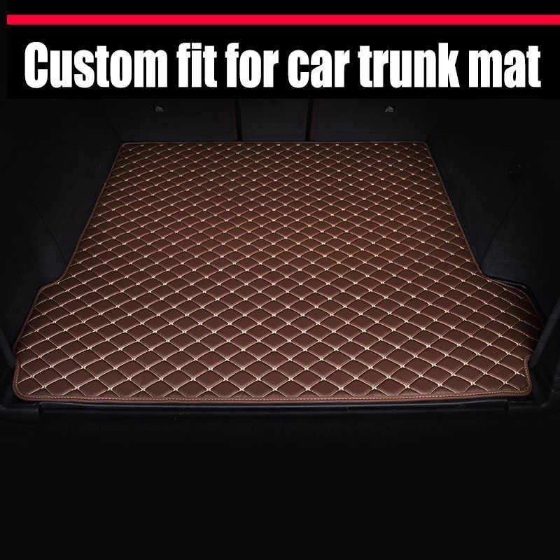 Mats tapis de coffre de voiture pour Mercedes Benz GLE | Tapis personnalisés 320 350 400 450 250d 350d GLK W204 220 250 300 350