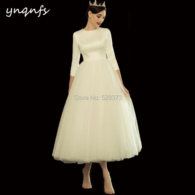 25805955da14b YNQNFS BD6 Elegant Strapless Sleeveless Vintage Tea Length ...