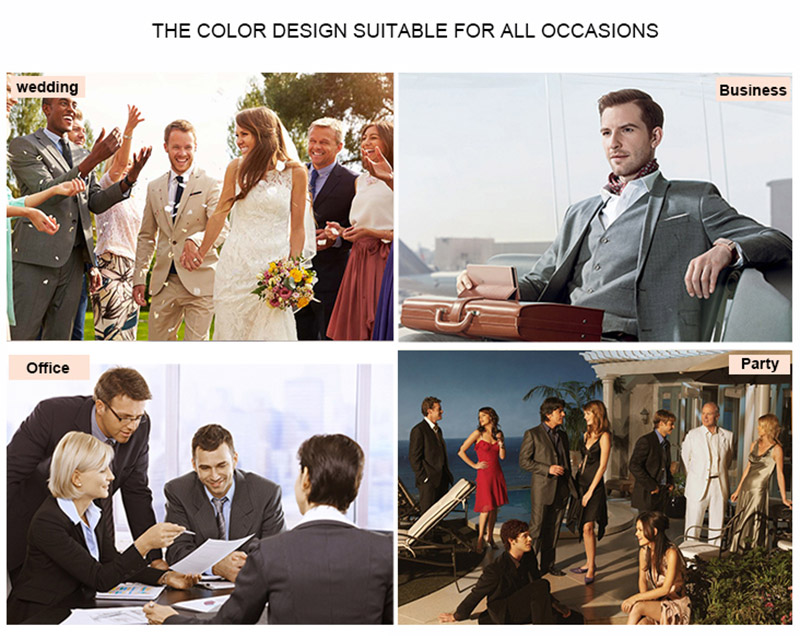 Formal Hunter Green Business Men Suits for Wedding Groom Tuxedos Evening Party Best Man Blazers 2Piece Slim Fit Terno Masculino in Suits from Men 39 s Clothing