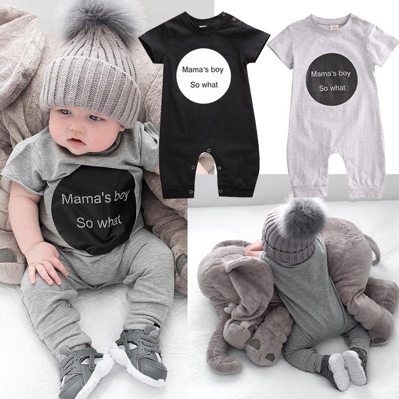 Pudcoco Boy Jumpsuits 0-24M US Toddler Newborn Baby Boy Cotton   Romper   Jumpsuit Outfit Sunsuit Summer Clothes