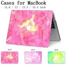 Para MacBook Notebook Laptop Sleeve Case Bag Para MacBook Air Pro Retina 11 12 13.3 15.4 Polegada Com Protetor de Tela tampa do teclado