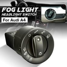 Передний и задний противотуманный светильник, головной светильник, переключатель для Audi A4 8E B6 B7 8E0941531B, авто переключатели, запасные части