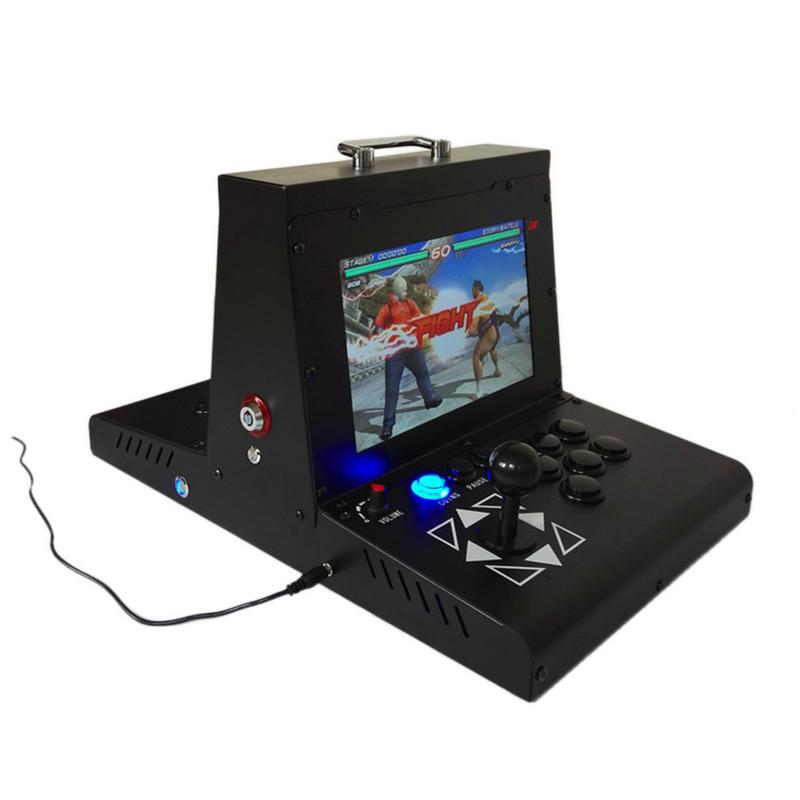 2177 Games Real time Battle Classic Box 3D 10 Dual Screen Arcade Video Game Console N64 PS1 For TV PC Monitor HDMI/VGA/USB