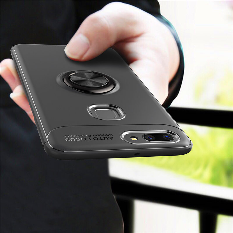Vivo X21 V11 Magnetic Rotation Ring Case for Vivo V9 V11i X23 Y69 Shell Vivo Y83 Y97 X20 Y53 Y75S Stand Holder Back Cover Capa