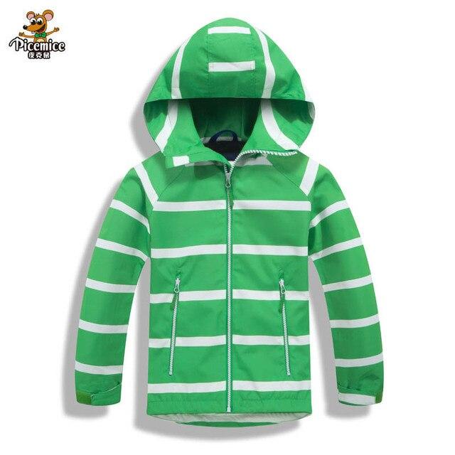 2019 Children Boys Jacket 3-12T Winter Autumn Outerwear & Coats Kids Polar Fleece Windproof Waterproof Windbreaker Hooded