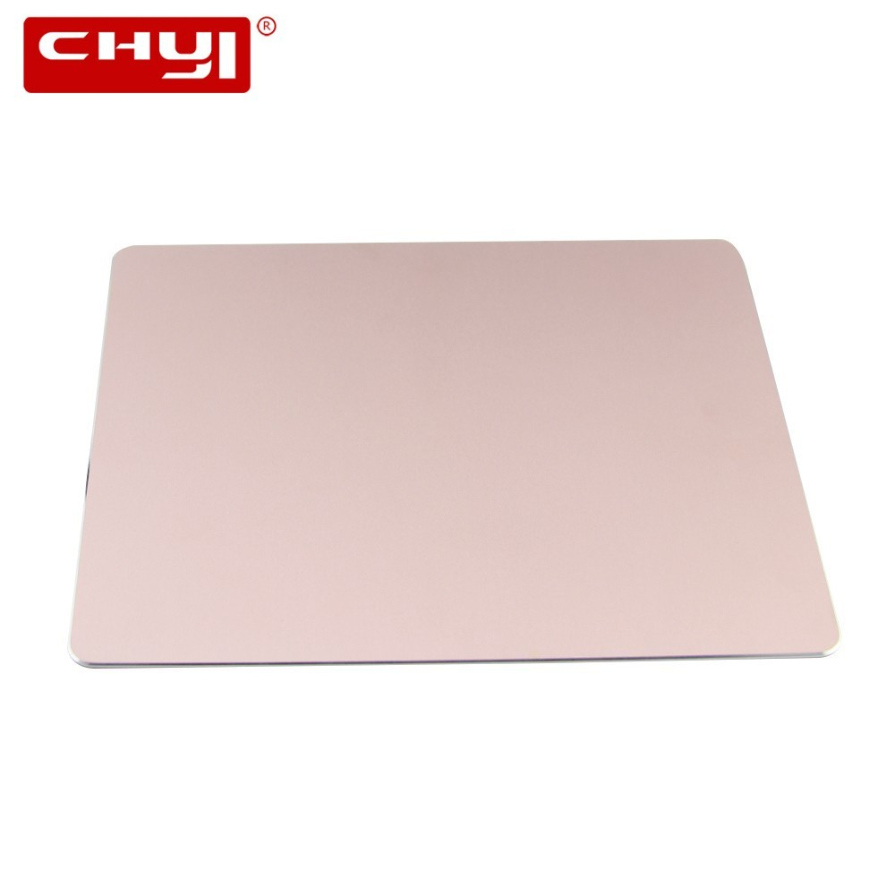 CHYI Aluminum Alloy Computer Mouse Pad Large Metal Mice Pad Mat Slim Gaming <font><b>Mousepad</b></font> For Apple For MackBook Pro Magic For <font><b>Xiaomi</b></font> image
