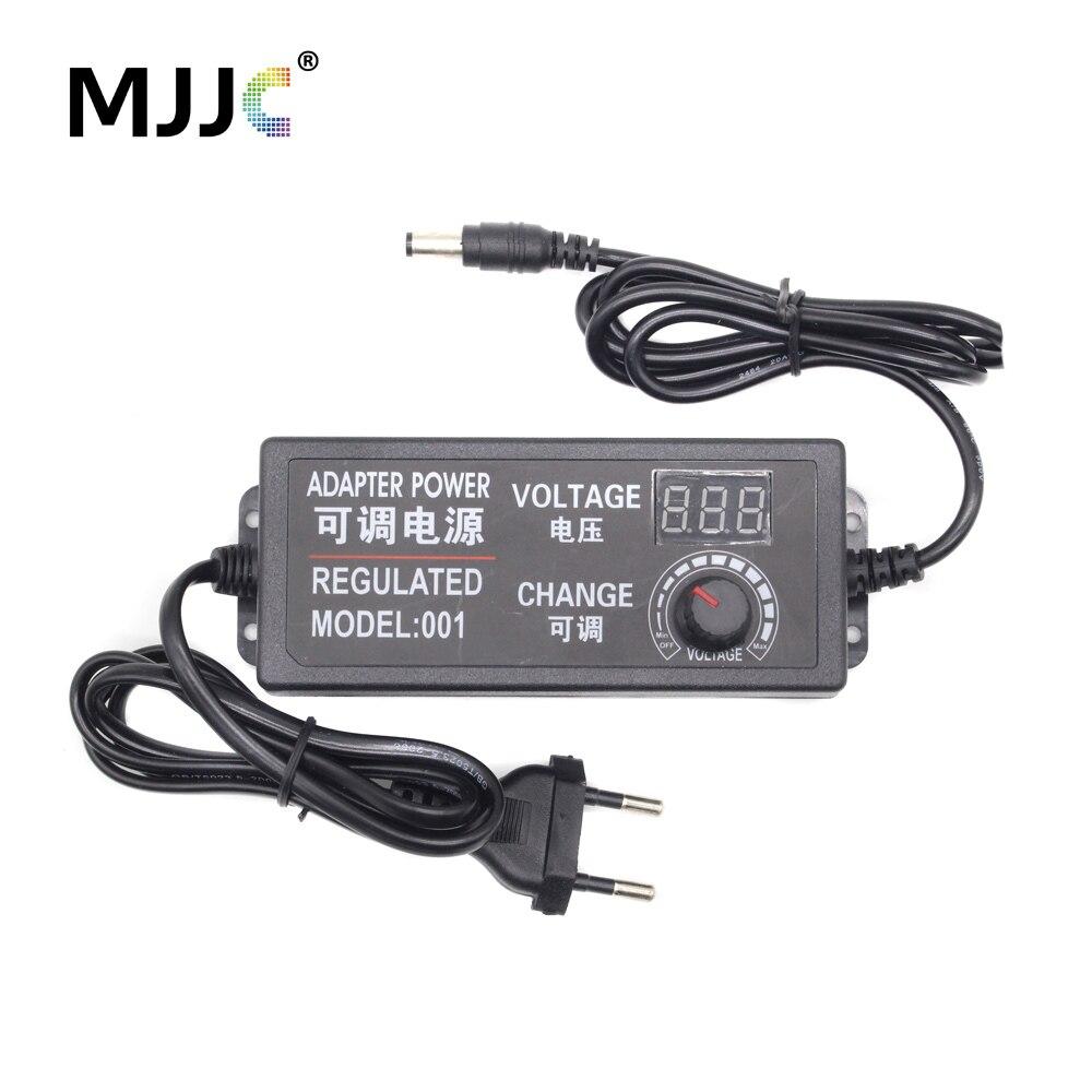 US $11 41  AC DC Regulated Power Adapter 3V 9V 12V 24V Voltage Adjustable  Switching Power Supply 2A 3A 5A LED Transformer Voltage Regulator-in