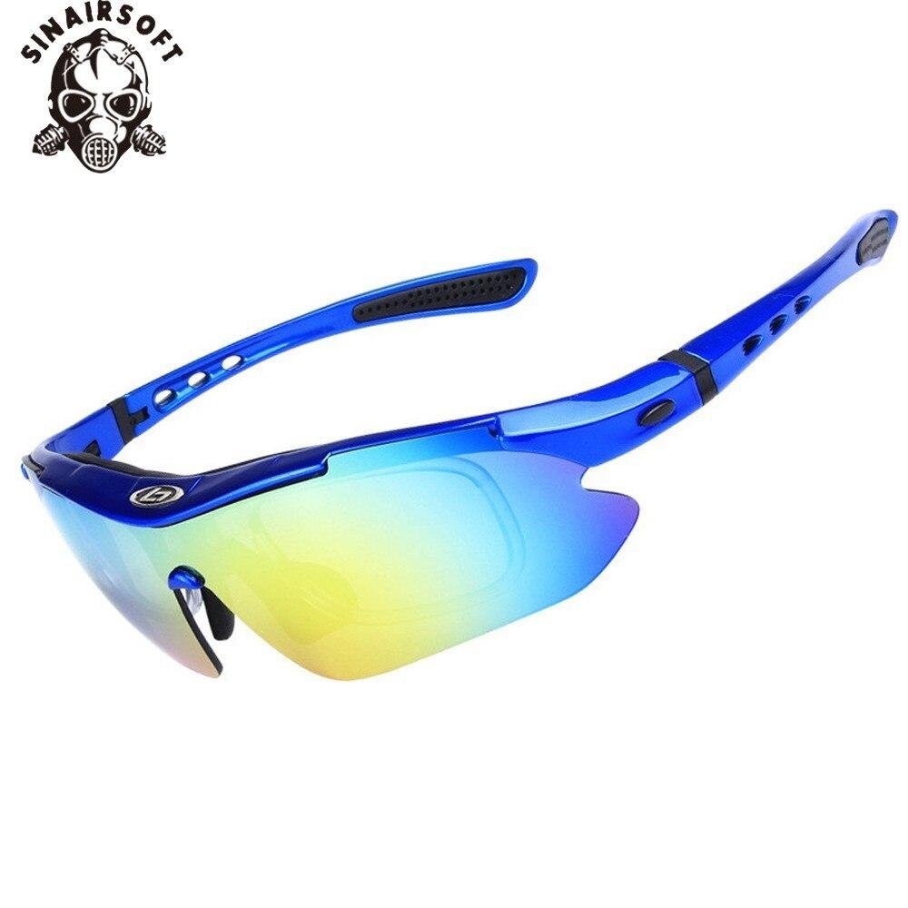 Kacamata Matahari terpolarisasi Kacamata Olahraga Outdoor Kacamata 0868 Kacamata Eyewear Hiking Eyewear 5 Lens, 4 Warna