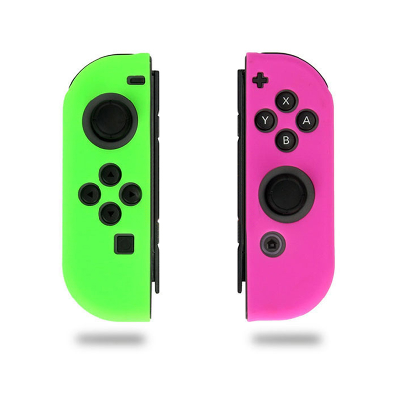 10Colors Silicone Protective Case Skin For Nintend Switch Anti-Slip Soft Cover For Nintend Switch Joy-Con Controller Accessories