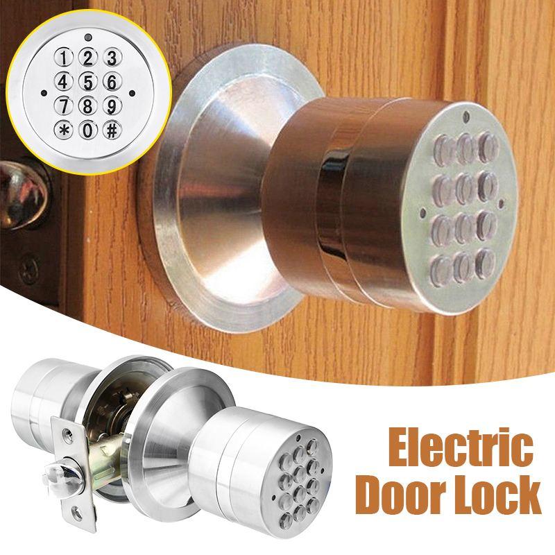 Electronic Door Lock,Smart Bluetooth Digital APP Keypad Code Keyless Door Lock,Password Keyless Door Lock Electronic
