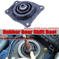 Car Gear Lever Upper Rubber Gear Shift Boot Seal Rubber Gear Insulator For Mazda MX 5 MK1 MK2 1889 2005 NA0164481B