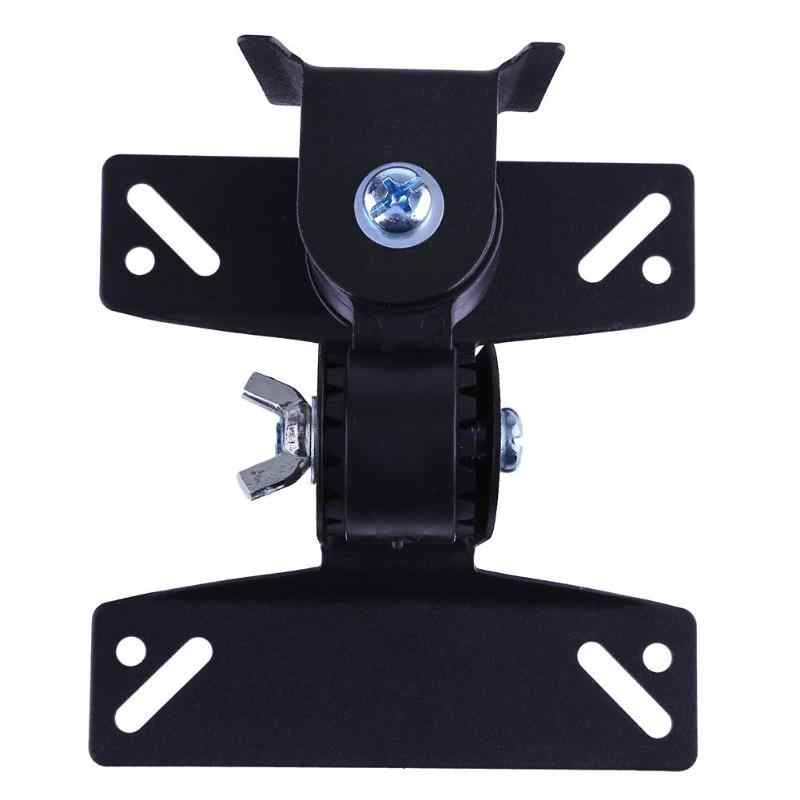 30 Derajat Diputar Steel LCD TV LED Monitor Pemegang Bracket Falt Panel Dinding Mount Braket Pemegang untuk 14-32 TV Monitor